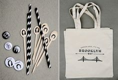 customized souvenirs for a wedding, based on theme. Love the idea!