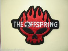 F138 Fabric The Offspring Iron on Patch Applique Hard Rock Heavy Metal Band Punk   eBay