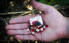 Little Gardener and Fox Handmade air-dry clay doll, OOAK by Romantic Wonders Clay Dolls, Air Dry Clay, Fox, Romantic, Handmade, Hand Made, Romance Movies, Foxes, Romantic Things