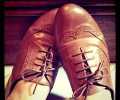 sapato oxford / oxford shoes
