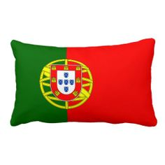 Pillow with flag of Portugal