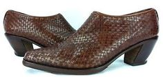 Via-Spiga-Womens-Brown-Boot-Shoes-Heels-2-5-in-6-4-cm-Size-9-Med