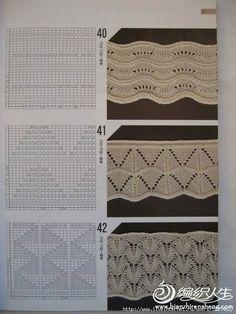 Схемы для отделки низа изделия. Спицы.... фото #7