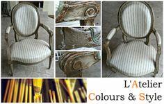 L'Atelier Colours & Style Restoration of a Louis XVI Chair