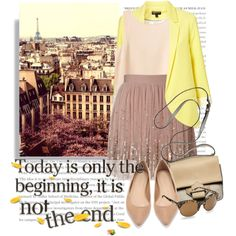 Beginning, created by asya-1 on Polyvore