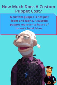 Full Body Puppets, Ventriloquist Puppets, Puppets For Sale, Professional Puppets, Custom Puppets, Moving Eyes, Puppet Patterns, Sock Puppets, Puppet Crafts