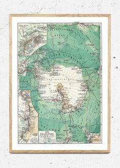 Sydpolen - str. A3 og 50x70 plakat fra Hönshuset