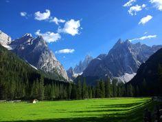 La Val Fiscalina (Sesto), Fischleintal (Sexten), The Fiscalina Valley.