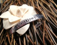 One Direction Bracelet Hand stamped Names Harry Zayn Louis Liam Niall on Etsy, $12.00