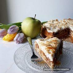 Kokos pita sa jabukama i brusnicama