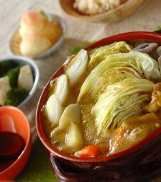 「鶏肉のカレー豆乳鍋」の献立・レシピ - 【E・レシピ】料理のプロが作る簡単レシピ/2016.03.13公開の献立です。