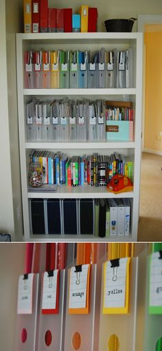 12 DIY Office and Craft Space Organization Projects | GleamItUp