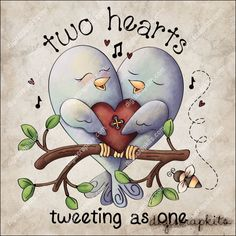 Tweeting as One 1 Clip Art Single - Click Image to Close
