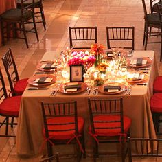 The Shape of Things :  wedding decor palm springs reception 6a00e55