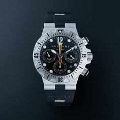 Bvlgari Diagono Scuba Chronograph Automatic // SC40SVD // Store Display