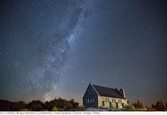 New Zealand, Church, Tekapo, Stars,.