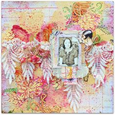 swissdutchy8: Mixed media layout colorfull vintage with video.