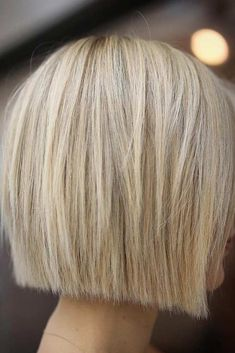 50 Impressive Short Bob Hairstyles To Try Consider short bob hairstyles, if change is what you seek. It is always fun to try out something new, especially if it is extremely stylish and versatile. Bob Hairstyles For Fine Hair, Layered Bob Hairstyles, My Hairstyle, Bob Haircuts, Fun Hairstyles, Celebrity Hairstyles, Wedding Hairstyles, Bobs For Thin Hair, Corte Y Color