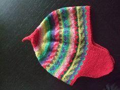 Tricot enfants :  Bonnet jacquard pour enfants de 2 à 6 ans
