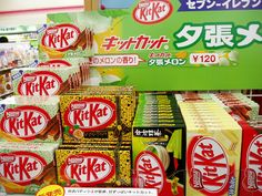 Japanese Kit Kat store display