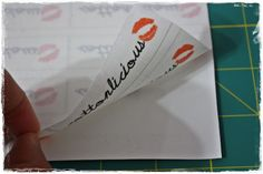 cottonlicious: Tutorial: Make your own fabric labels