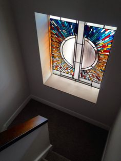 Contemporary stained glass, Troon, Scotland, 2015   by stephen-weir