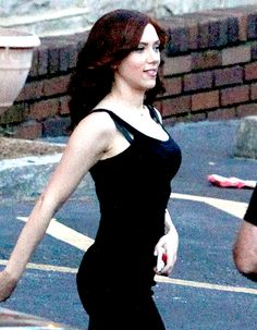 UPDATE: First Look At Scarlett Johansson 'Black Widow' On Set Of CAPTAIN AMERICA: CIVIL WAR