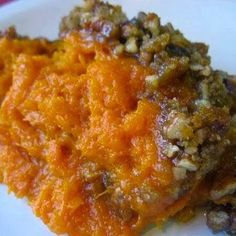 Best foods and recipes in the world: RUTH'S CHRIS SWEET POTATO CASSEROLE