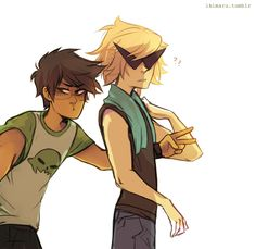 """part 1 """"when u spot a rare Dirk with unstyled hair you have to take pics and then run for it"""""""