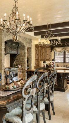 I love the 'old' feel.... Old World, Mediterranean, Italian, Spanish & Tuscan Homes Design & Decor