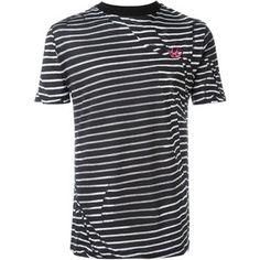 McQ Alexander McQueen 'Swallow' striped T-shirt
