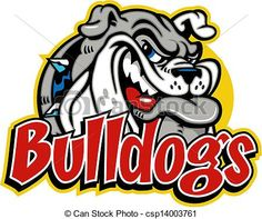 bulldog mascot clipart http://www.canstockphoto.com/cute-smirking-bulldog-face-14003761.html