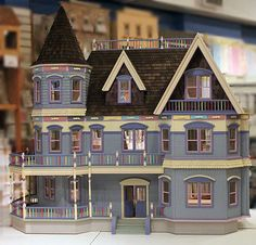 Queen Anne Dollhouse  by the Little Dollhouse Company