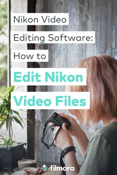 Want to edit your Nikon video files? Here, a powerful yet easy-to-use Nikon video editor is introduced for you to easily achieve that. Nikon Cameras, Nikon Digital Camera, Wattpad Book Covers, Wattpad Books, Camera Store, Wedding Parties, Family Events, Video Editing, Make Money Blogging