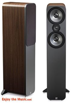 If there was ever proof of my contention that a combination of high sensitivity with a high impedance loading can make for a better sound, then the Q Acoustics 3050 is it. Overall this design has to be considered a Meisterstück – a masterpiece in its class – so well blended is the mix of skillful engineering for the price. Read the review at www.EnjoyTheMusic.com/magazine/equipment/1215/Q_Acoustics_3050_Speakers_Review.htm