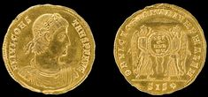 Unique Roman gold coin found in Lower Saxony - The Archaeology News Network Historical Monuments, Historical Maps, Christian Schmidt, Constantine The Great, Art Connection, Lower Saxony, Archaeology News, Greek Culture, Cross Art