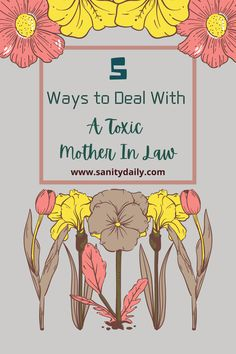 How toxic mothers in law destroy families and ignore the fact that it's their adamancy which led to the damage. Daughter In Law, Mother In Law, Learning To Let Go, Staying Positive, New Things To Learn, Losing Her, Truths, Mothers, Families