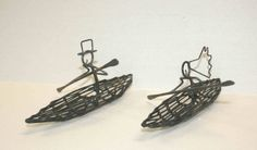 Pin Kayak Wedding Cake Toppers 7 Inches By Darylsrockwireworks On Etsy