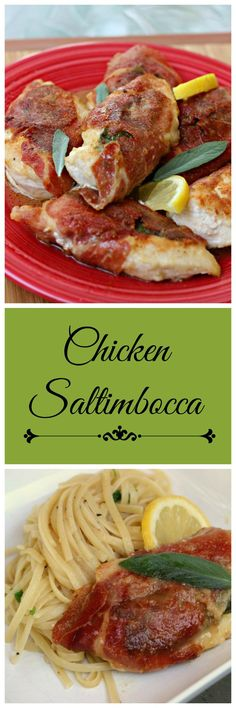Chicken Saltimbocca: An easy gourmet style meal you can have on your table in 30 minutes or so! #chicken #easyrecipe