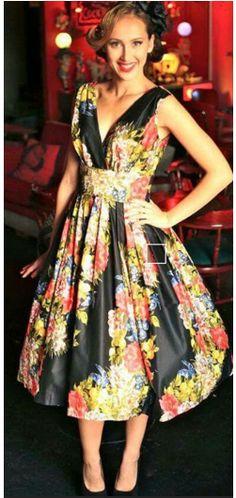 Cuban Style Vintage Dresses