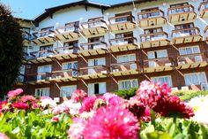 Hotel Alpestre na primavera