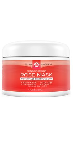 Facial Rose Mask | Enriched With Premium Ingredients – InstaNatural