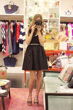 Moda: Kate Spade, Limão e de vestidos bonitos