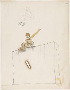 Las ilustraciones originales de El Principito