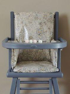 coussin chaise haute - multiples idées