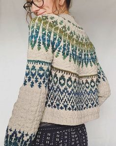 Ravelry 335588609734697047 - Ravelry: spincycleyarns' Koivua Source by nicoletajauca Fair Isle Knitting Patterns, Fair Isle Pattern, Sweater Knitting Patterns, Knitting Designs, Knit Patterns, Knitting Projects, Baby Knitting, Knit Sweaters, Fair Isle Pullover