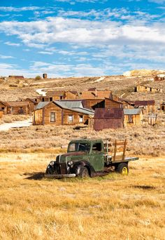 Old truck and houses in Bodie ghost town by Julien Boé on 500px