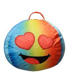 Eyes for You Emoji Bean Bag
