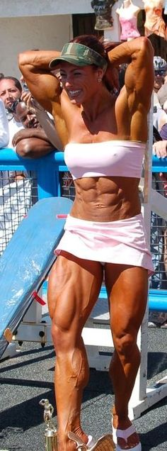 The Extrondinary League of Sexy Muscle Women : Photo Bodybuilding Training, Bodybuilding Workouts, Female Bodybuilding, Bodybuilding Humor, Bodybuilding Competition, Love Fitness, Muscle Fitness, Woman Fitness, Fitness Women