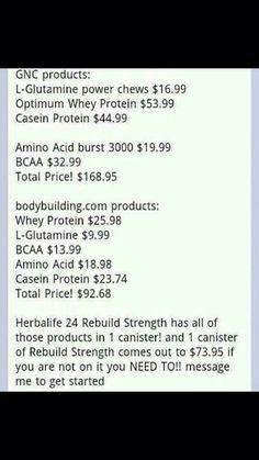 Herbalife24 money saving facts. Get your savings here www.goherbalife.com/bdharmer